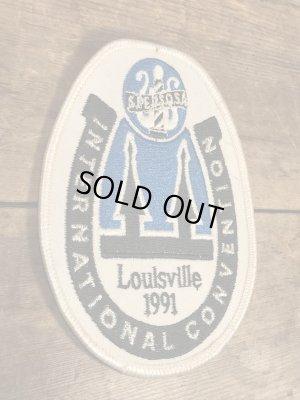 アメリカLoulsvilleのコンベンションセンターの90'sヴィンテージ刺繡パッチ