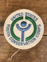 United States Youth Conservation Corps Patch 青少年保護団体 ビンテージ ワッペン パッチ 80〜90年代