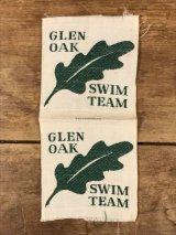 Glen Oak Swim Team Patch スイムチーム ビンテージ ワッペン パッチ 80〜90年代