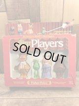 Fisher-Price The Muppet Show Players Figure Set マペットショウ ビンテージ フィギュアセット カーミット 70年代