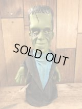 "Mattel The Munsters ""Herman"" Hand Puppet Doll ハーマン ビンテージ パペットドール マンスターズ マテル社 60年代"