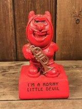 Paula Red Devil Message Doll レッドデビル ビンテージ メッセージドール 置物 60年代