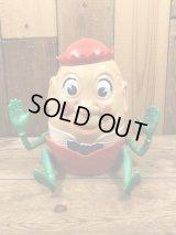 Kusan Incorporated Humpty Dumpty Plastic Toy ハンプティダンプティ ビンテージ トイ 童話 40年代