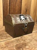 Pirate & Skull Treasure Chest Metal Coin Bank パイレーツ ビンテージ コインバンク スカル 50年代