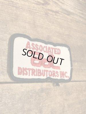 """アメリカのサングラスメーカー""""Associated Distributors""""の60's〜ヴィンテージ刺繡パッチ"""