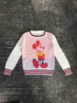 Disney Mickey Mouse Knit Sweater  ミッキーマウス ビンテージ セーター ディズニー ニット 70年代