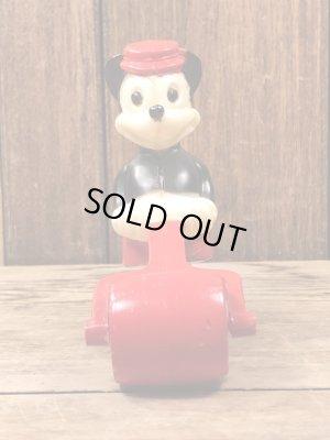 ディズニーキャラクターのミッキーマウスの60'sヴィンテージトコトコ人形