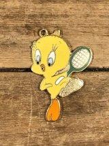 Looney Tunes Tweety Bird Metal Charm トゥイーティー ビンテージ チャーム ルーニーテューンズ 70〜80年代