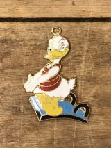 Disney Donald Duck Metal Charm ドナルドダック ビンテージ チャーム ディズニー 70〜80年代