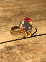 Looney Tunes Road Runner Metal Ring ロードランナー ビンテージ リング ルーニーテューンズ 指輪 70〜80年代