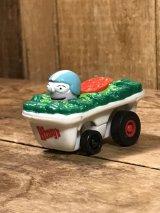 "Wendy's Fast Food Racers ""salad"" Meal Toy ウェンディーズ ビンテージ ミールトイ サラダ 90年代"