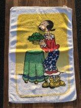 Royal Terry Popeye Olive Hand Towel オリーブ ビンテージ ハンドタオル ポパイ 70〜80年代