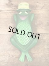 Avon Freddie the Frog Soap Dish エイボン ビンテージ ソープディッシュ カエル 60年代