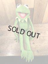 Fisher Price Kermit The Frog Plush Doll カーミット ビンテージ プラッシュドール マペットショー 70年代