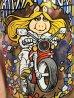 """マクドナルで配布されたマペットショーのキャラクター""""ミスピギー""""の80年代ビンテージグラス"""