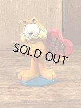 "Paws Garfield ""Valentine"" PVC Figure ガーフィールド ビンテージ PVCフィギュア バレンタイン 90年代"
