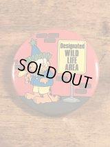 The Button Up Garfield Tin Badge ガーフィールド ビンテージ 缶バッジ 2000年代