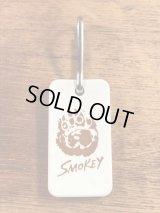 Smokey Bear Rubber Keychain スモーキーベア ビンテージ キーホルダー 企業キャラ 90年代〜