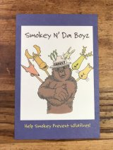 Smokey Bear Postcard スモーキーベア ビンテージ ポストカード 企業キャラクター 2000年代