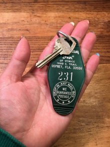 """他の写真1: Holiday inn Vintage Motel Key""""231"""" ホリデイイン モーテルキー 鍵 ホテル 70年代"""