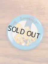 The Simpson's Badge シンプソンズ ビンテージ 缶バッジ 90年代