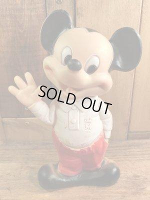 ディズニーキャラクターのミッキーマウスの60年代〜ビンテージスクイーズドール