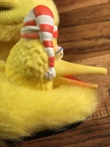 他の写真1: Sesame Street Big Bird Kids Slippers ビッグバード ビンテージ キッズスリッパ セサミストリート 70〜80年代