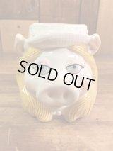 The Muppet Show Miss Piggy Ceramic Mug ミスピギー ビンテージ マグカップ マペットショウ 80年代