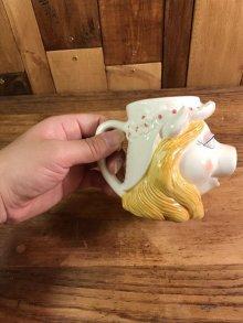 他の写真3: The Muppet Show Miss Piggy Ceramic Mug ミスピギー ビンテージ マグカップ マペットショウ 80年代