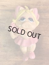 The Muppet Show Miss Piggy PVC Figure Pencil Topper ミスピギー ビンテージ ペンシルトッパー マペットショウ 80年代