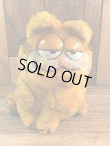 "Dakin Garfield ""Regular Size"" Plush Doll ガーフィールド ビンテージ プラッシュドール 縫いぐるみ 80年代"