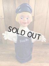 Dutch Boy Hand Puppet Doll ダッチボーイ ビンテージ パペットドール 企業キャラクター 60年代