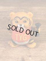 """Shirt Tales """"Tyg Tiger"""" PVC Figure シャツテイルズ ビンテージ PVCフィギュア 80年代"""