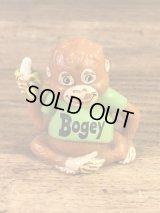 """Shirt Tales """"Bogey Monkey"""" PVC Figure シャツテイルズ ビンテージ PVCフィギュア 80年代"""