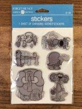 """American Greetings """"Animal Lenticular"""" Vinyl Puff Stickers レンチキュラー ビンテージ パフステッカー プクプクシール 80年代"""
