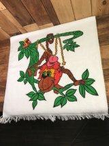 "Cannon ""Funny Monkey"" Cotton Towel モンキー ビンテージ タオル 70年代"