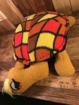 """Elka Toys """"Psychedelic Turtle"""" Plush Doll タートル ビンテージ プラッシュドール サイケデリック 70年代"""