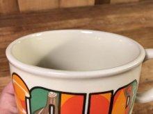 """他の写真1: Vegetable """"Soup"""" Ceramic Soup Mug ベジタブル ビンテージ スープマグ 70年代"""