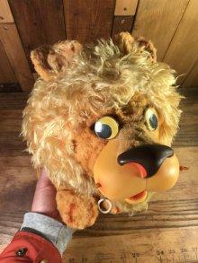 """他の写真3: Mattel """"Larry the Lion"""" Talking Plush Doll ラリーザライオン ビンテージ トーキングドール マテル 60年代"""