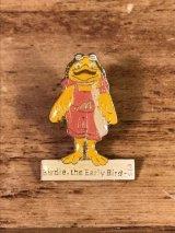 "McDonald's ""Bardie The Early Bird"" Enamel Metal Pins バーディー ビンテージ ピンバッジ マクドナルド ピンズ 80年代〜"