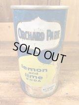 Orchard Park Lemon and Lime Soda Drink Can レモン&ライムソーダ ビンテージ スチール缶 60〜70年代