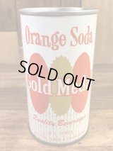 Gold Medal Orange Soda Drink Can オレンジソーダ ビンテージ スチール缶 ゴールドメダル 60〜70年代