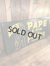 A.G. Pape & Son Painting Metal Sign ペインティング ビンテージ 看板 ストアサイン 50年代〜