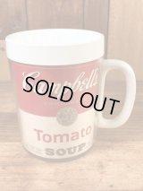 "Campbell's ""Tomato Soup"" Thermo Mug キャンベルスープ ビンテージ サーモマグ 70年代"