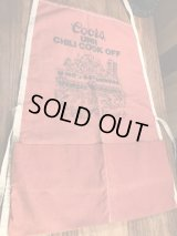Coors UNR Chili Cook Off Kitchen Apron クアーズ ビンテージ エプロン イベント 80年代