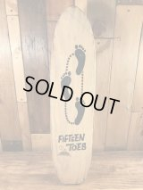 Nash Fifteen Toes Wooden Skateboard フィフティーントーズ ビンテージ スケートボード 60年代