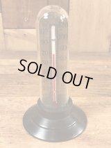 Earl W. Blizzard Advertising Glass Dome Thermometer 企業物 ビンテージ サーモメーター 湿度計 50年代〜