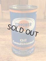 Sta Power Oil Conditioner Tin Can スタパワー ビンテージ ブリキ缶 オイル 60年代