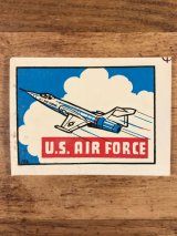 "Baxter Lane ""U.S. Air Force"" Water Slide Decal USエアフォース ビンテージ 水張りステッカー ウォータースライドデカール 60年代"