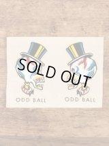 "Impko ""Odd Ball"" Water Slide Decal オッドボール ビンテージ 水張りステッカー ウォータースライドデカール 60年代"